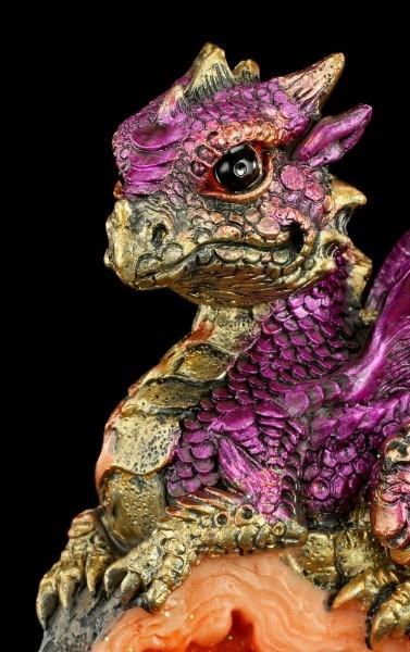 Drachen Figur - Der Wächter - Rot