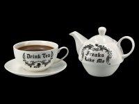 Tee for One Set - Freaks Like Me Drink Tea