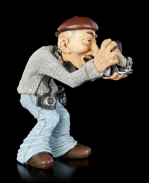 Funny Job Figur - Fotograf mit alter Kamera