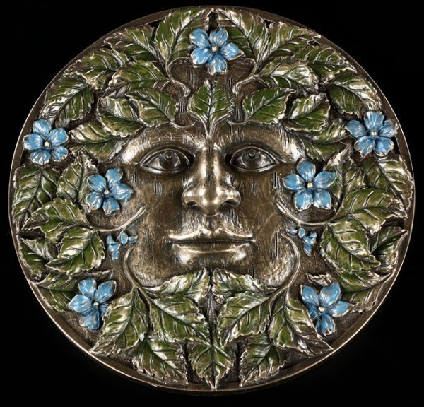 Greenman Wandrelief - Beltane