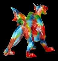 Drachen Figur - Regenbogen