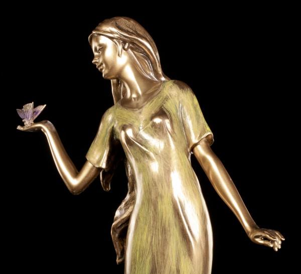 Frauen Figur - Lady mit Schmetterling