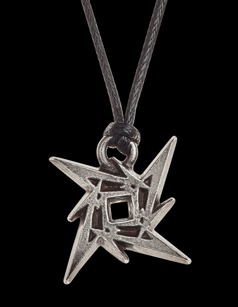 Metallica Halskette Ninja Stern Logo - Alchemy Rocks