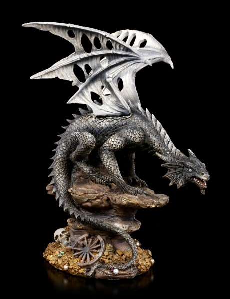 Dragon Figurine - Baal with Treasure