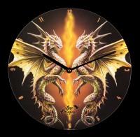 Wall Clock - Age of Dragons - Desert Dragon