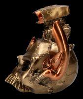 Steampunk Skull - Petrol Head