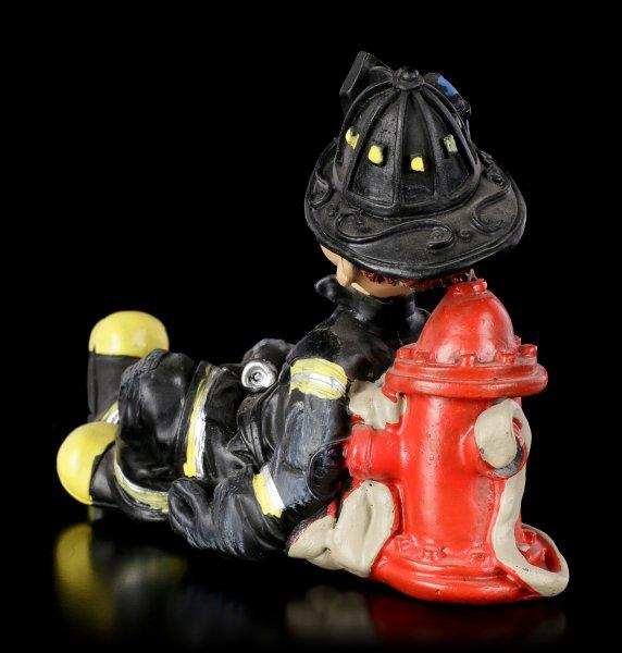 Funny Job Figur - Feuerwehrmann schläft