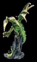 Drachen Figur - Hear me Roar - grün