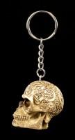 Skull Keyring - Celtic Head