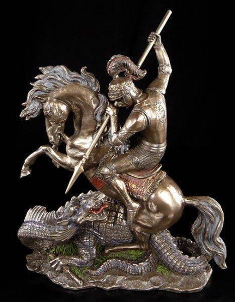 Saint George Stabbing Dragon
