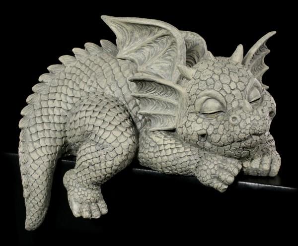 Dragon Shelf SitterGarden Figurine - Looks Right