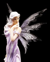 Fairy Figurine - Lauren in purple Summer Dress