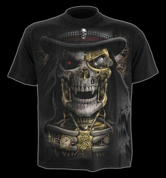 Steam Punk Reaper - T-Shirt