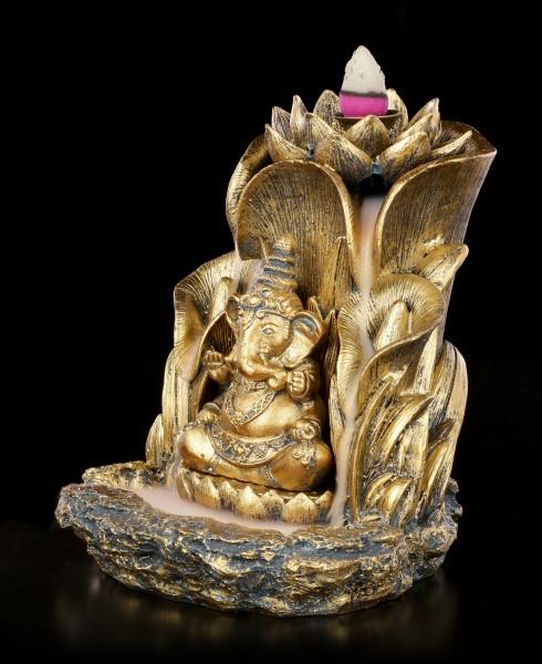 Backflow Räucherkegelhalter - Ganesha