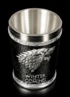 Game of Thrones Schnapsbecher - Winter is Coming