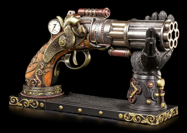 Steampunk Gun with Hand Holder