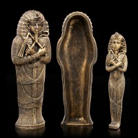 Tutanchamun Sarkophag mit Mumie