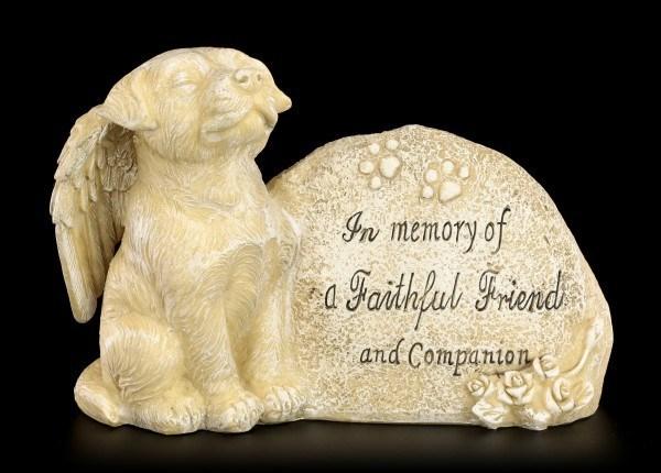 Hunde Figur - Treuer Freund