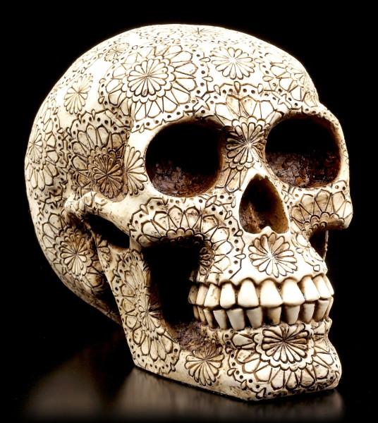 Skull - Flower Power