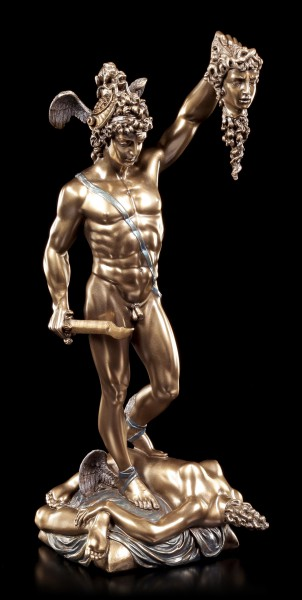 Perseus Figurine With Head Of Medusa By Cellini