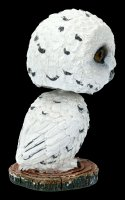 Wackelkopf Figur - Eule Beak