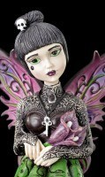 Gothic Fairy Figurine - Little Shadows - Orchid