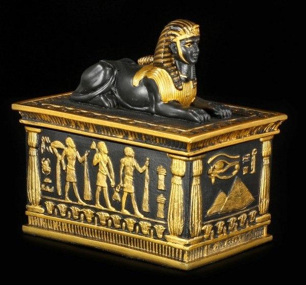 Ägyptische Schatulle - Sphinx