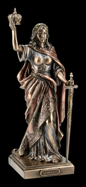 Goddess Germania Figurine