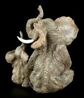 Elefanten Familie Figur - Tröten macht Spaß