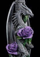 Dragon Beauty Candlestick - Anne Stokes