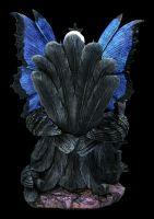 Fairy Figurine - Ravens Queen on her Throne