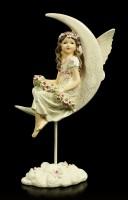 Dream Fairy Figurine on Moon
