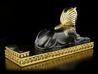 Ägyptischer Flaschenhalter - Sphinx