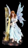 Elfen Figur - Palina mit Harfe