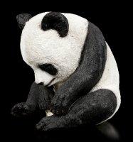 Gartenfigur - Schlafender Panda