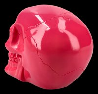 Skull - shiny pink