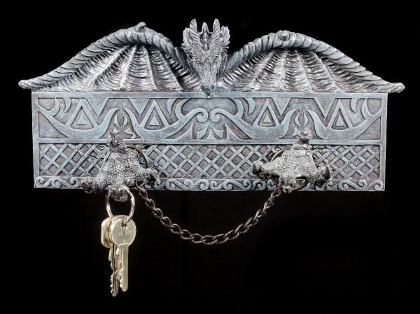 Schlüsselbrett - Drachen in Ketten