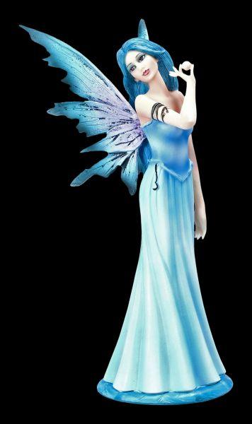 Elfen Figur - Luna mit Perle in der Hand