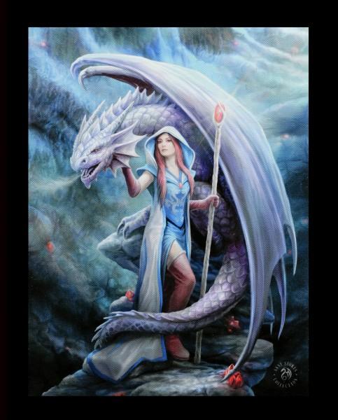 Small Canvas - Dragon Mage