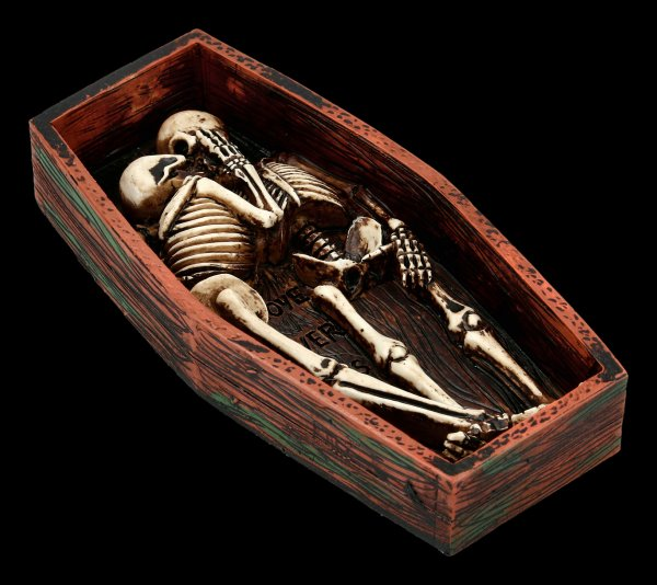 Skeleton Figurine - Love Never Dies - I'm with you
