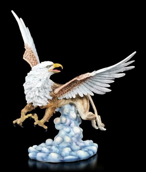 Greif Figur mit ausgebreiteten Flügeln