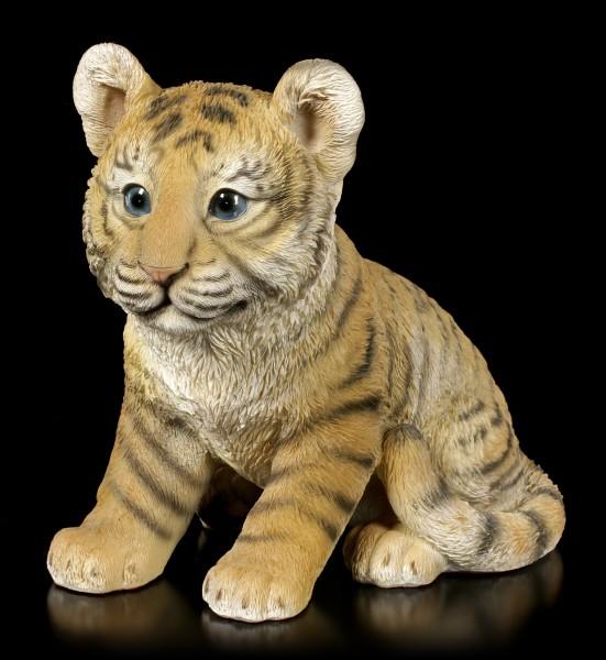 Gartenfigur - Kleines Tiger Baby