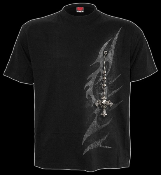 T-Shirt Gothic - Tribal Chain