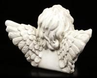 Engel Figur - Cherub nachdenklich
