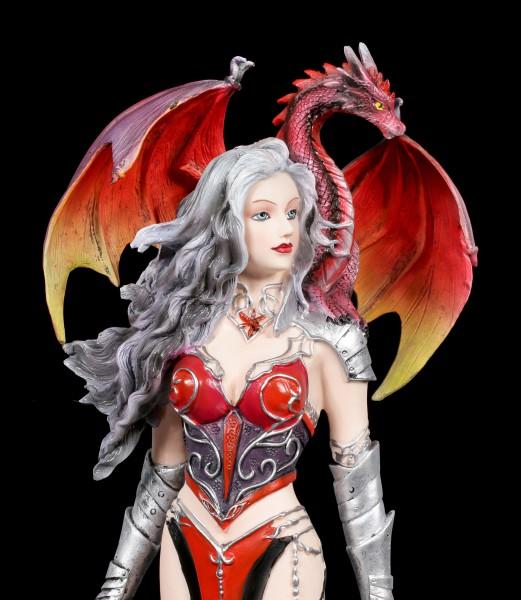 Nene Thomas Figurine with Dragon - Severeille Witch