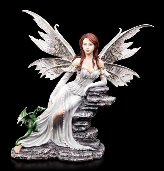 Fairy Figurine with Dragon - Miamiel