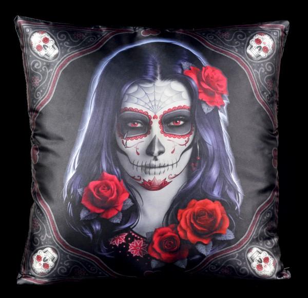 Kissen Day of the Dead - Sugar Skull