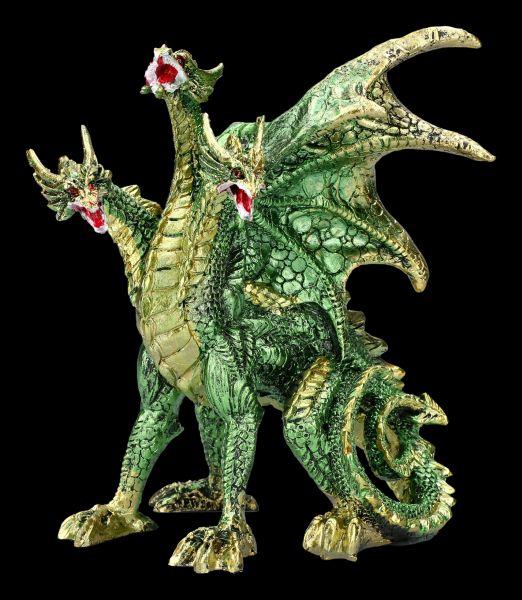 Drachenfigur - Grüne Hydra