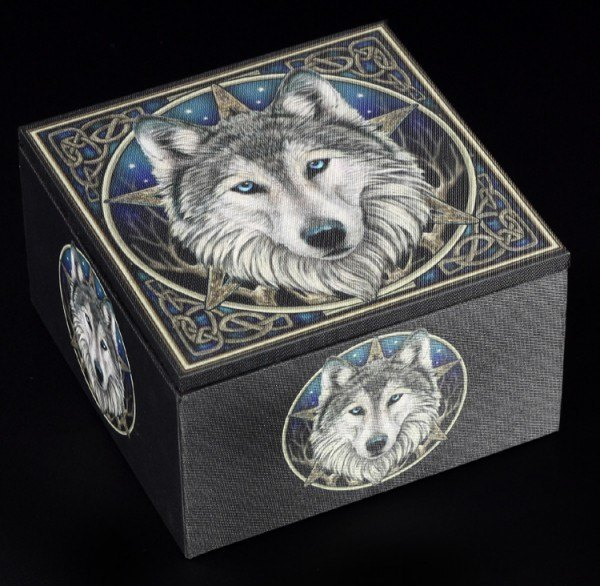 Preview: Wolf Box with Mirror - The Wild One