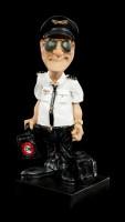 Funny Job Figur - Pilot mit Sonnenbrille